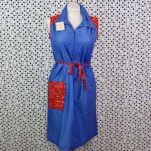 Vintage Dresses - VINTAGE: Cowgirl Dress BNWT
